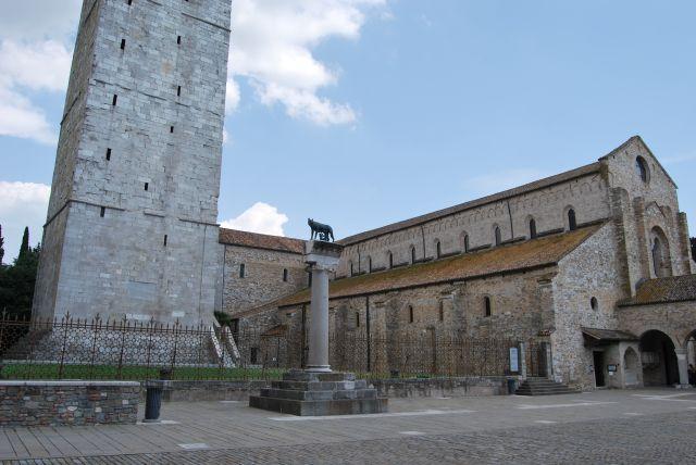 Oglej Aquileia vodič