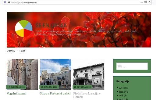 Blog Tjasa